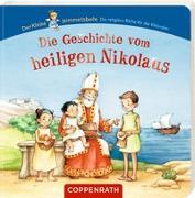Cover-Bild zu Die Geschichte vom heiligen Nikolaus von Wissmann, Maria (Illustr.)