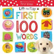 Cover-Bild zu Lift the Flap: First 100 Words von Scholastic, Inc.