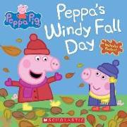 Cover-Bild zu Peppa's Windy Fall Day von Scholastic