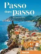 Cover-Bild zu Passo dopo passo A2. Kursbuch + Arbeitsbuch + 2 Audio-CDs von Barbierato, Anna