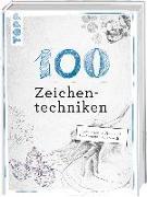 Cover-Bild zu 100 Zeichentechniken von Reiter, Monika