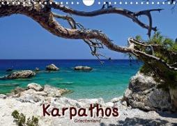 Cover-Bild zu Karpathos / Griechenland (Wandkalender 2021 DIN A4 quer) von Reiter, Monika