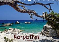 Cover-Bild zu Karpathos / Griechenland (Wandkalender 2021 DIN A3 quer) von Reiter, Monika