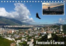 Cover-Bild zu Venezuela & Caracas (Tischkalender 2021 DIN A5 quer) von Reiter, Monika