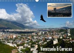 Cover-Bild zu Venezuela & Caracas (Wandkalender 2021 DIN A3 quer) von Reiter, Monika