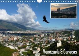 Cover-Bild zu Venezuela & Caracas (Wandkalender 2021 DIN A4 quer) von Reiter, Monika