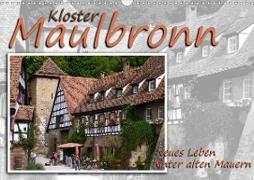 Cover-Bild zu Kloster Maulbronn - Neues Leben hinter alten Mauern (Wandkalender 2021 DIN A3 quer) von Reiter, Monika