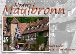 Cover-Bild zu Kloster Maulbronn - Neues Leben hinter alten Mauern (Tischkalender 2021 DIN A5 quer) von Reiter, Monika