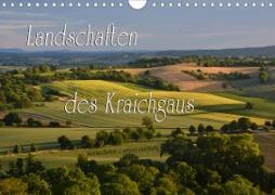 Cover-Bild zu Landschaften des Kraichgaus (Wandkalender 2021 DIN A4 quer) von Reiter, Monika