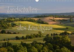 Cover-Bild zu Landschaften des Kraichgaus (Wandkalender 2021 DIN A3 quer) von Reiter, Monika