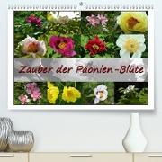 Cover-Bild zu Zauber der Päonien-Blüte (Premium, hochwertiger DIN A2 Wandkalender 2021, Kunstdruck in Hochglanz) von Reiter, Monika