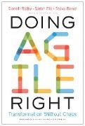 Cover-Bild zu Doing Agile Right (eBook) von Rigby, Darrell K.