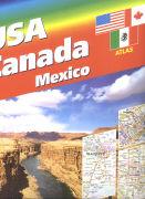 Cover-Bild zu USA / Canada / Mexico Atlas