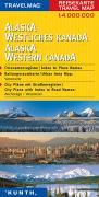 Cover-Bild zu Alaska Westliches Kanada. 1:4'000'000