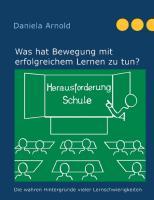 Cover-Bild zu Herausforderung Schule (eBook) von Arnold, Daniela