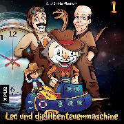 Cover-Bild zu Leo und die Abenteuermaschine - Folge 1 (Audio Download) von Arnold, Matthias