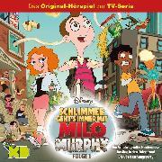Cover-Bild zu Disney / Milo Murphy -Folge 01: Ein Schulweg voller Hindernisse/ Ausflug in den Untergrund/ Die Überraschungsparty (Audio Download) von Arnold, Cornelia