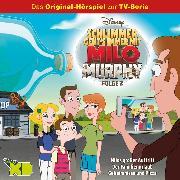 Cover-Bild zu Disney / Milo Murphy -Folge 02: Milos großer Auftritt/ Der Familienurlaub/ Geheimnisse und Pizza (Audio Download) von Arnold, Cornelia
