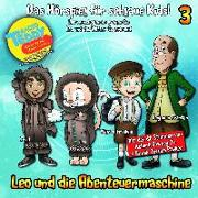Cover-Bild zu Leo und die Abenteuermaschine Folge 3 von Arnold, Matthias