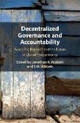 Cover-Bild zu Decentralized Governance and Accountability von Rodden, Jonathan A. (Stanford University, California) (Hrsg.)