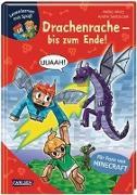 Cover-Bild zu Lesenlernen mit Spaß - Minecraft Band 3: Drachenrache - bis zum Ende! von Wolz, Heiko