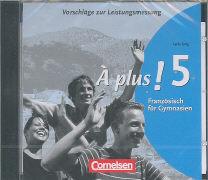 Cover-Bild zu À plus! 5. Vorschläge zur Leistungsmessung. CD-Extra