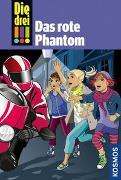 Cover-Bild zu Die drei !!!, Bd.52, Das rote Phantom von von Vogel, Maja