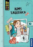 Cover-Bild zu Die drei !!!, Kims Tagebuch von Flammang, Sina