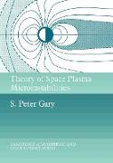 Cover-Bild zu Theory of Space Plasma Microinstabilities von Gary, S. Peter