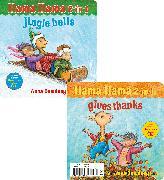 Cover-Bild zu Llama Llama 2-in-1: Gives Thanks/Jingle Bells von Dewdney, Anna