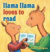Cover-Bild zu Llama Llama Loves to Read von Dewdney, Anna