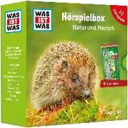 Cover-Bild zu WAS IST WAS 5-CD Hörspielbox Natur und Mensch von Haderer, Kurt