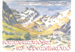 Cover-Bild zu Sommerwandern im Appenzellerland von Stricker-Frehner, Hannes (Idee von)