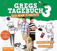 Cover-Bild zu Kinney, Jeff: Gregs Film-Tagebuch 3 - Ich war's nicht!