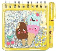 Cover-Bild zu Be happy Notizset Funny Glitter VE 12