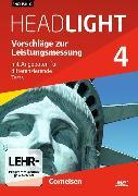 Cover-Bild zu English G Headlight 4. Allgemeine Ausgabe. Vorschläge zur Leistungsmessung