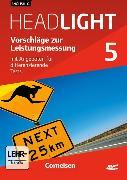 Cover-Bild zu English G Headlight 5. Allgemeine Ausgabe. Vorschläge zur Leistungsmessung. Lehrermaterial mit CD-ROM