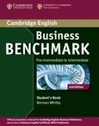 Cover-Bild zu Business Benchmark Pre-intermediate to Intermediate Business Preliminary Student's Book