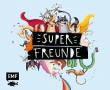 Cover-Bild zu Vigh, Inka (Illustr.): Superfreunde - Das Freundebuch