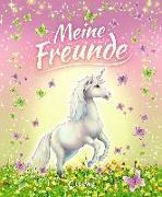 Cover-Bild zu Loewe Eintragbücher (Hrsg.): Meine Freunde (Einhörner)