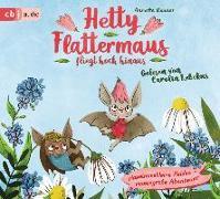 Cover-Bild zu Hetty Flattermaus fliegt hoch hinaus