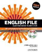 Cover-Bild zu English File. Third edition. Upper-intermediate. Student's Book with DVD-ROM 'iTutor' von Latham-Koenig, Christina