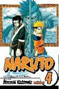 Cover-Bild zu Kishimoto, Masashi: Naruto, Vol. 4