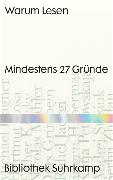 Cover-Bild zu Warum Lesen von Wegner, Frank (Hrsg.)