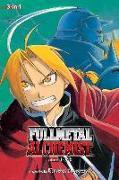 Cover-Bild zu Arakawa, Hiromu: Fullmetal Alchemist (3-in-1 Edition), Vol. 1