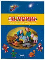 Cover-Bild zu Die fabelhafte Welt der Knete - Meine kleine Weihnachtskrippe von Oren, Rony