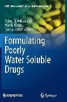 Cover-Bild zu Williams III, Robert O. (Hrsg.): Formulating Poorly Water Soluble Drugs