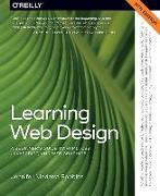 Cover-Bild zu Robbins, Jennifer Nieder: Learning Web Design 5e