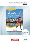 Cover-Bild zu À toi! 3. Vierbändige Ausgabe. Unterrichtsmanager