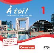 Cover-Bild zu À toi! 1. Vierbändige Ausgabe. CD-Extra